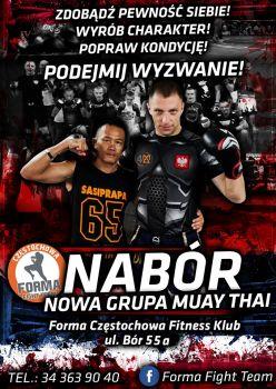 NABÓR!!!! NOWA GRUPA MUAY THAI